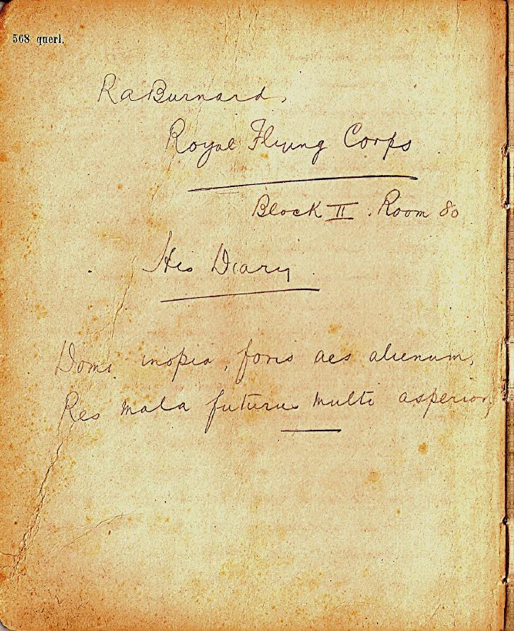R. A. Burnard: His Diary